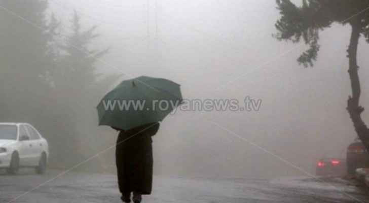 Rainy winter weather returns to Jordan