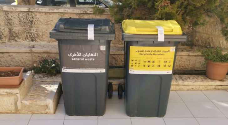 GAM collects 300 tons of recyclable waste in neighborhood in Amman