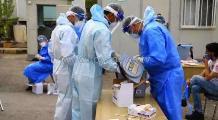 Jordan records 15 deaths and 1,122 new coronavirus cases