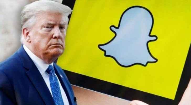 Snapchat permanently bans Trump's account