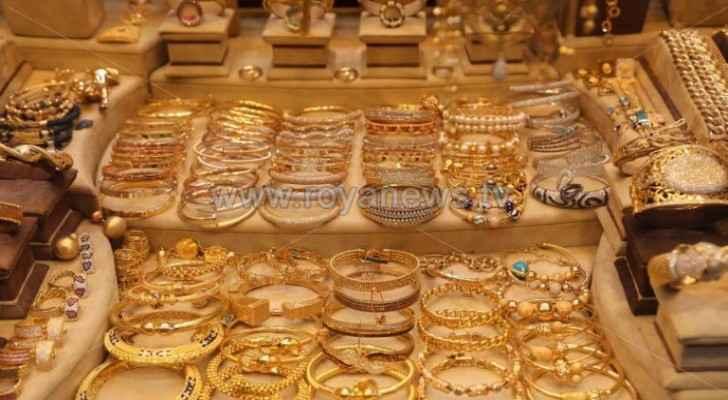 JJS announces gold prices in Jordan Thursday