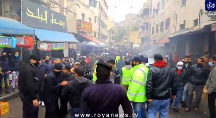 VIDEO: Downtown Amman witnesses extreme overcrowding Friday