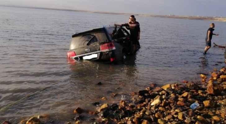 VIDEO: Car sinks in Dead Sea