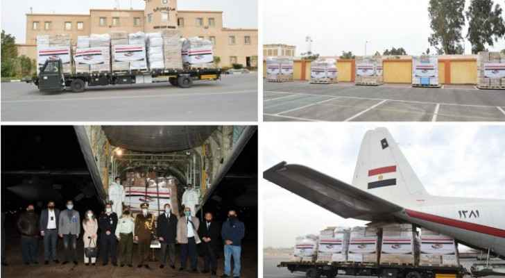 Egypt provides medical supplies to Jordan