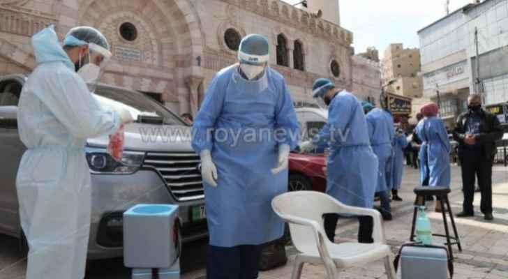 Jordan records 17 deaths and 883 new coronavirus cases