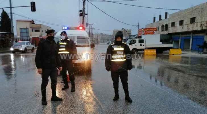 Rain causes closure of Ajloun's Ibbin triangle area due to high water levels