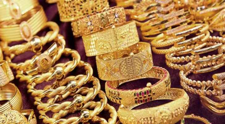 Gold prices rise in Jordan
