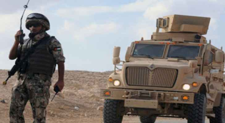 Military intercepts attempt to smuggle drugs into Jordan