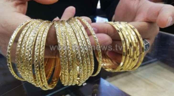 JJS announces gold prices in Jordan Saturday
