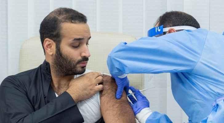 Saudi Crown Prince MBS receives coronavirus vaccine. Photo: Middle East Eye