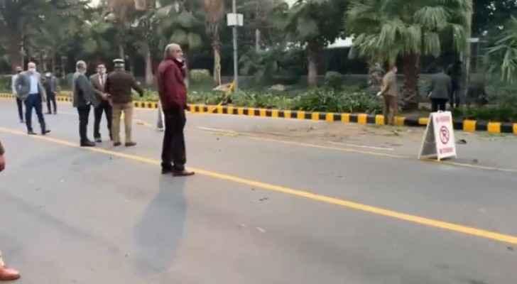Explosion heard near Israeli Occupation embassy in New Delhi