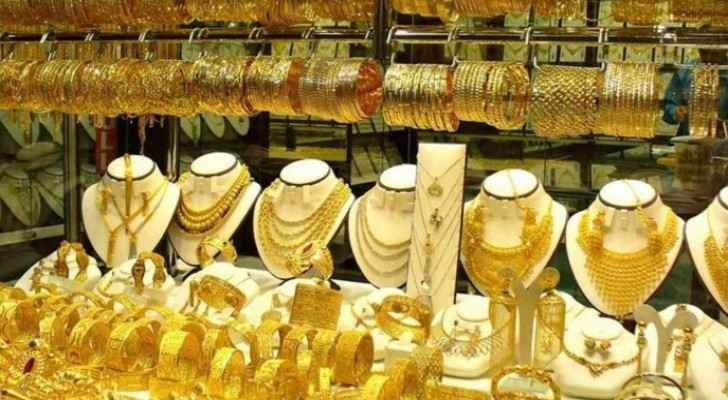 JJS announces gold prices in Jordan Sunday