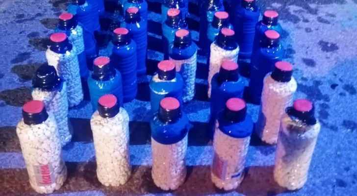 PSD foils attempt to smuggle thousands of pills in water bottles
