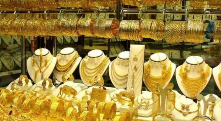 JJS announces gold prices in Jordan Tuesday