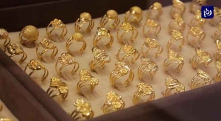 JJS announces gold prices in Jordan Thursday
