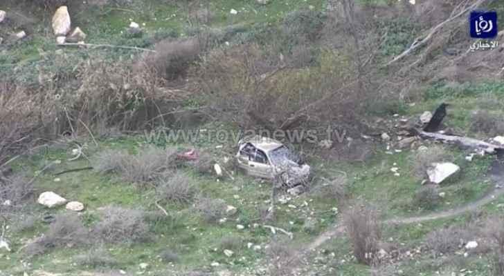 Vehicle crashes in Irbid, body found