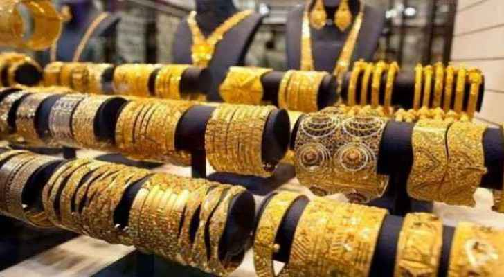 Gold prices rise by 50 piasters in Jordan Tuesday: JJS