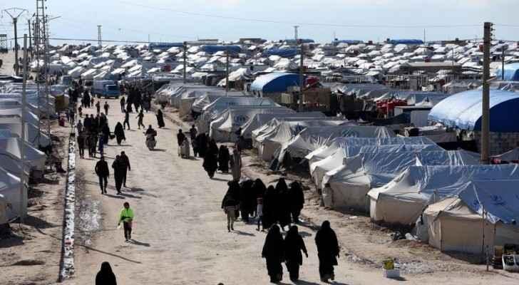 Photo: Al Hol camp. Source: Asharq Al Aswat