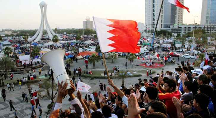 Bahrain protests. Source: NPR