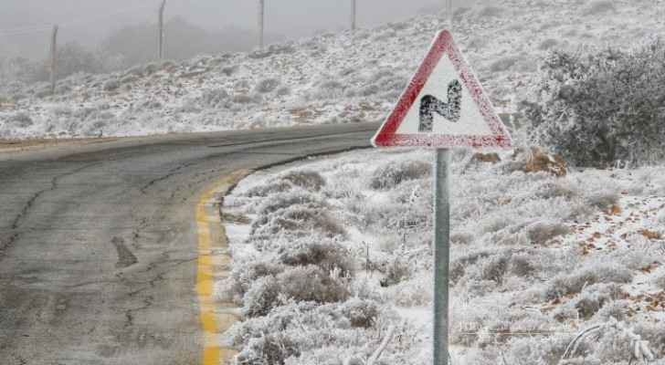 Jordan expects snow in areas 1,000 meters above sea level Friday