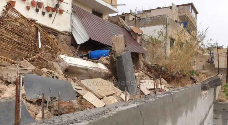 IMAGES: House in Marka collapses due to bad weather