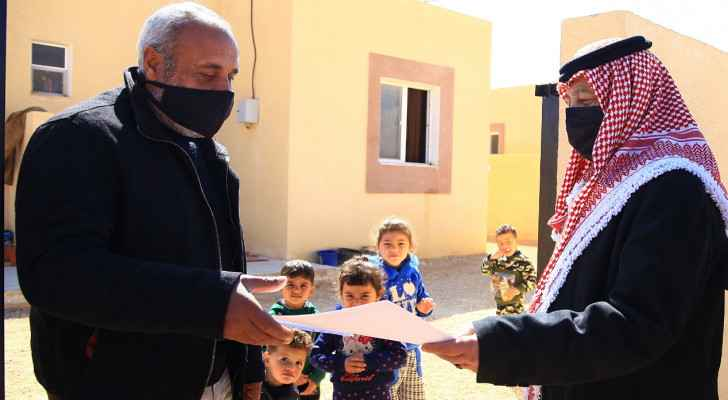 35 underprivileged families receive new homes in al-Ruwaished