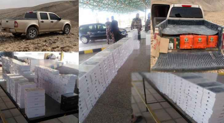 Customs Department thwarts smuggling attempts of alcohol, mobile devices