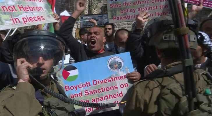 Palestinians protest, mark 1994 Ibrahimi Mosque massacre