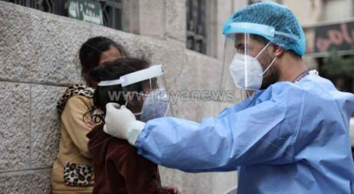 Jordan records 26 deaths and 4,594 new coronavirus cases