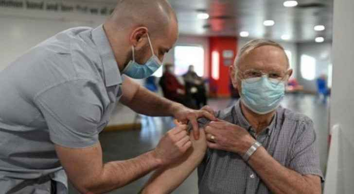 UK says over 20 million received first dose of COVID-19 vaccine