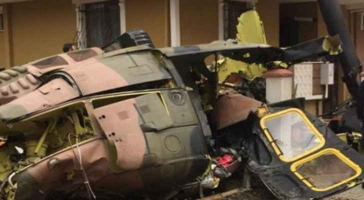 Nine Turkish soldiers  killed in military helicopter crash