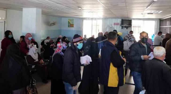 Overcrowding witnessed in Princess Basma Hospital outpatient clinics