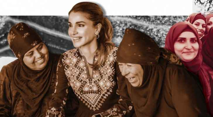 Queen Rania praises Jordanian women in light of International Women's Day
