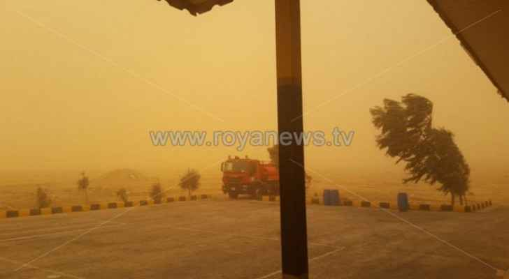 Jordan expects hot, dusty weather Wednesday