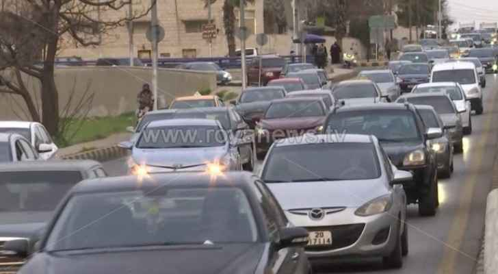 VIDEO: Jordan witnesses traffic congestion ahead of Friday lockdown