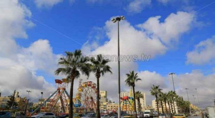 Temperatures continue rising in Jordan Monday