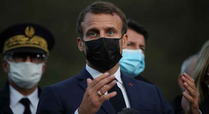 Macron calls again for a political solution to the Syrian conflict
