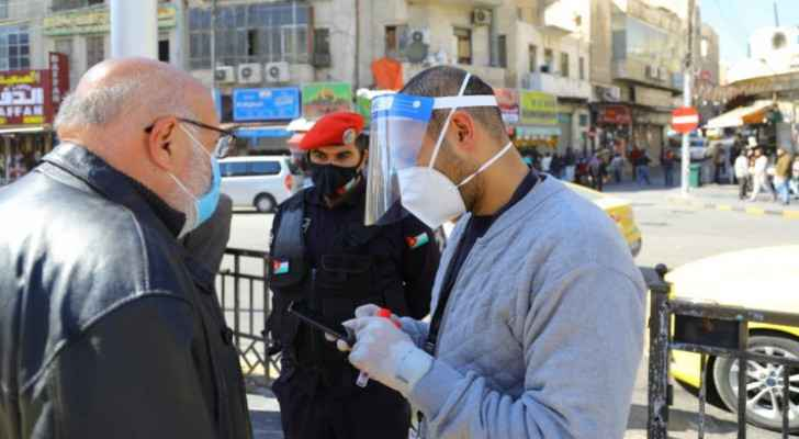 Jordan records more than 56,000 cases of COVID-19 since Sunday, most ever recorded in one week