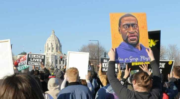 Minnesota protesters march near state capitol in honor of George Floyd