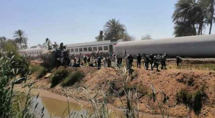At least 32 killed after two passenger trains collide in southern Egypt