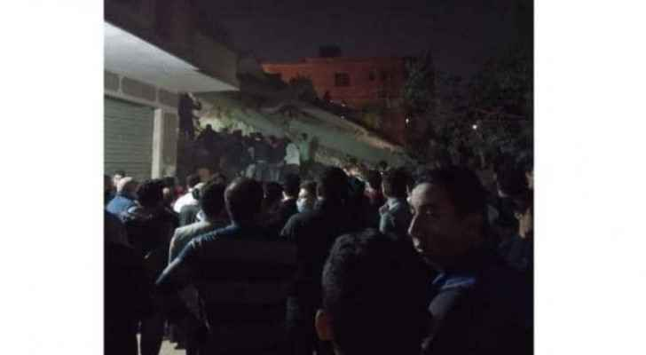 UPDATE: Egyptian 10 storey building collapses killing eight, injuring 29