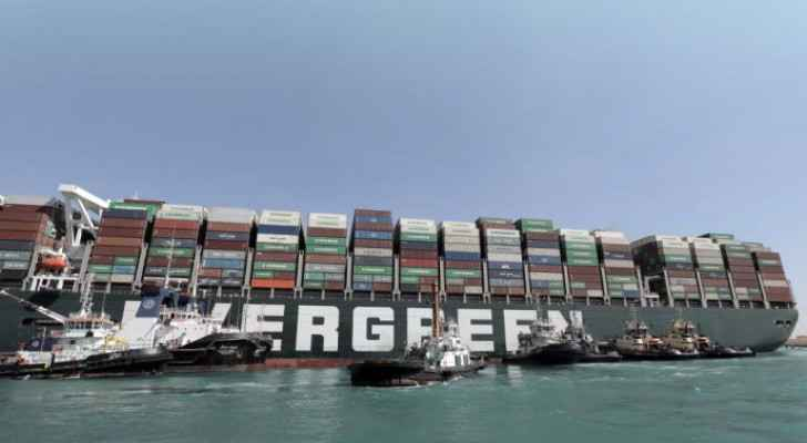 VIDEO: Wedged ship in Suez Canal begins to move