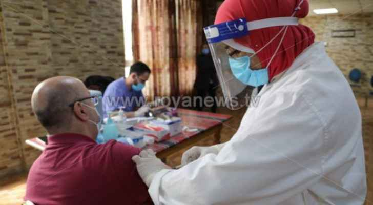 More than 963,000 people register for COVID-19 vaccination in Jordan