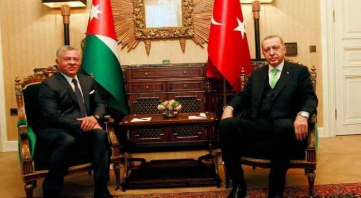 From the Archives: King Abdullah II and Turkish President Recep Erdoğan