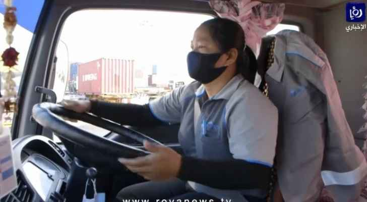 Female truck drivers break stereotypes in Thailand