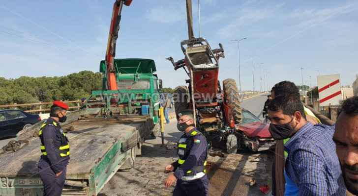 Three injured in traffic accident on Naour Bridge: PSD