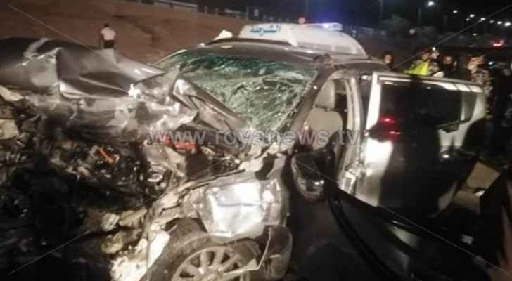 Four dead, two injured following two-vehicle collision in Aqaba
