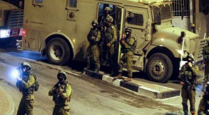 IOF arrest seven overnight