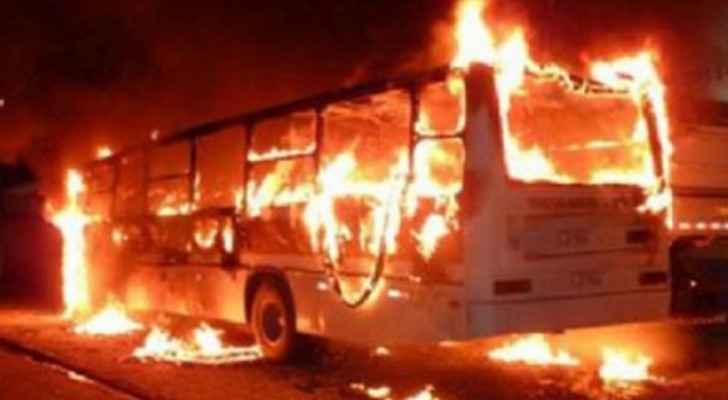 Around 40 burned alive in Congo bus crash