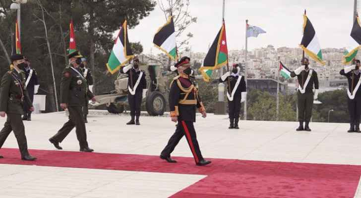 His Majesty recalls sacrifices of nation's martyrs on Jordan's centenary